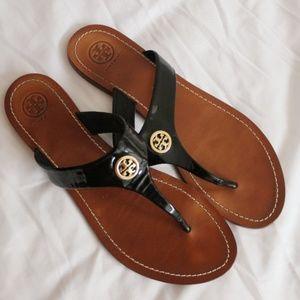 Tory Burch LIKE NEW Wide Strap Thong Sandal